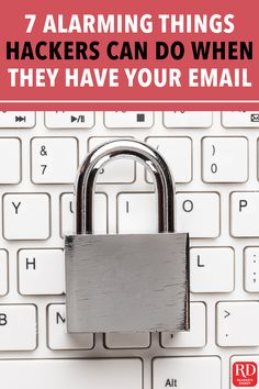 7 Alarming Things a Hacker Can Do When They Have Your Email Address — Once a hacker has access to your email, hacking your computer or smartphone is easier with a lot more of your information. Cyber Safety, Change Your Password, Financial Information, Your Email, Budget Template, Computer Technology, Email Address, Budgeting, Career