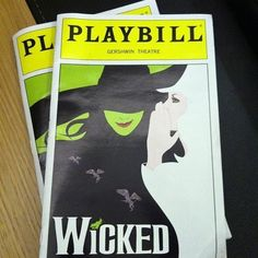 "You saved your Playbill from the show because it signifies the best day of your life. | 31 Signs You're Obsessed With ""Wicked"""