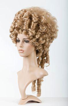 Parrucca Marie Antoinette / / Rococo parrucca / / storico
