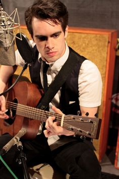 Brendon Urie, Panic! at the Disco by Martin Guitar Company