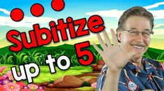 Subitize Up To 5 (soo-bi-tize) Numbers Kindergarten, Math Numbers, Preschool Math, Math Classroom, Fun Math, Teaching Math, Maths, Harry Kindergarten, Kindergarten Learning