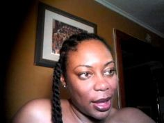 Two Strand Twists Crochet Braids with Marley Hair