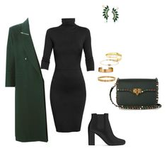 Untitled #184 by vikinagy on Polyvore featuring polyvore fashion style Undress Claude Montana Yves Saint Laurent Valentino Trina Turk Ippolita Le Gramme Cartier Gucci clothing