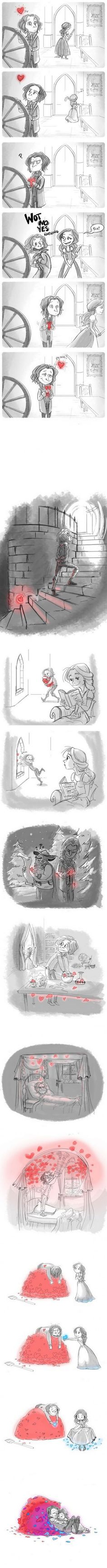 Once Upon A Time - AWW - - Rumplestiltskin falls in love This is a lovely comic about falling in love it made my heart hurt with how cute it is! -Laurel The post Once Upon A Time appeared first on Gag Dad. Rage Comic, My Heart Hurts, Cute Stories, Short Stories, Short Comics, Ouat, Once Upon A Time, Comic Strips, Cute Couples