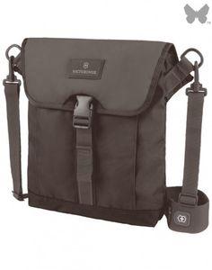 #Victorinox Altmont Flapover Shoulder Bag - Black