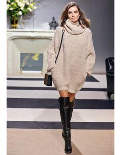 Robe pull + cuissardes H&M