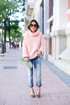 Pink Knit Promoción de la Navidad, no te pierdas! http://www.marcarebaja.com