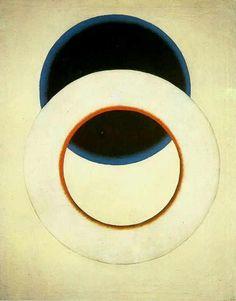 White Circle   by Alexander Rodchenko, 1918