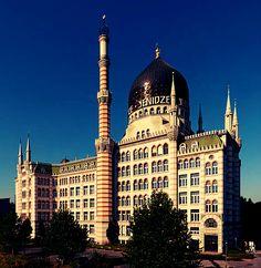 Yenidze Cigarette Factory, Dresden Germany
