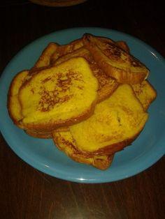 Pain perdu revisité en pain brioché à la cannelle de Cassandra - Atelier de Brigitte (Gironde 33230) cuisine, recettes, partages,