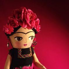 Frida Kahlo Art Doll by Mariana Mayeb