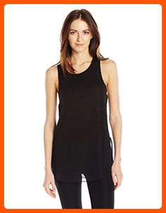 BCBGeneration Women's High Neck Contrast Tunic, Black, Small - All about women (*Amazon Partner-Link)