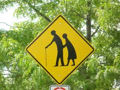 Old People Crossing `:) :)