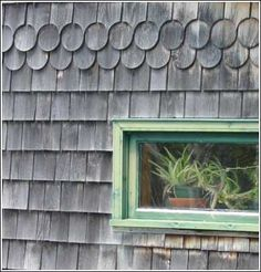 Canadian Wood Craftsman » Pattern Shingles  @Chelsea Miller ahahahha look what I found while researching shingles!