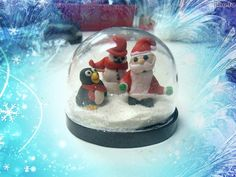 Model Magic, Christmas Clay, Snow Globes, Polymer Clay, Merry, Seasons, Children, Decor, Young Children