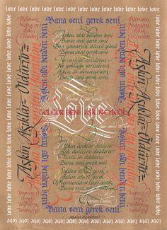 calligraphy serdar kipdemir