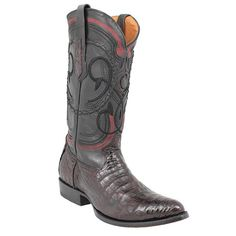 Western Boots, Cowboy Boots, Black Cherry Color, Heels, Leather, Men, Style, Fashion, Pintura