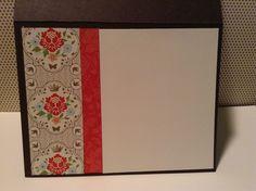 Inside of handmade card, everyday enchantment