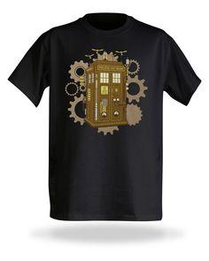 Steampunk TARDIS | ThinkGeek