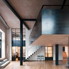 Dream Home !!  Sadie Snelson Architects converts London warehouse into photographer's home and studio
