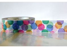 SPOTS Colorful Japanese Washi Tape