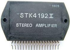 STK4192II stereo amplifier ic
