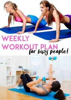 How to get fit - busy people workout plan @fitwithdeniza