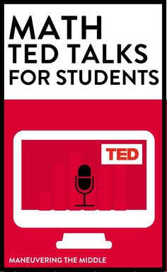 TED Talks can be a helpful tool to strengthen your teaching practices. I& complied a list of my favorite math TED Talks for teachers and students. Ted Talks For Teachers, Ted Talks For Kids, Math Teacher, Math Classroom, Teaching Math, Teacher Education, Kindergarten Math, Teacher Stuff, Maths