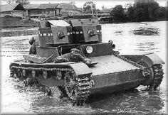 Light tanks T-26 Model 1931 / czołg lekki T-26 Model 1931