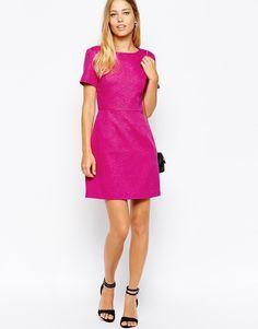 Enlarge Oasis Jacquard Tailored Dress