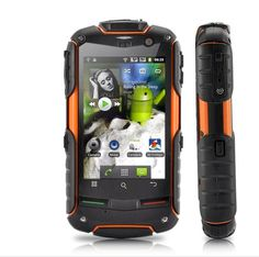 Android Rugged Phone with dual SIM, a Inch Touch Screen, GPS, waterproof, dustproof and shockproof is a superb all-purpose phone for the outdoors Best Android Tablet, Tablet Phone, Android 4, Smartphone, Android Phones, Rugged Cell Phones, Cell Phones For Sale, Phone Deals, Waterproof Phone