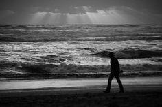 Photographer On The Beach Art Print Beach Art, Fine Art Paper, Saatchi Art, Landscapes, African, Ocean, Explore, Art Prints, Black And White