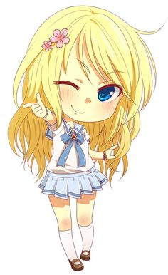 Chibi version of our cool beauty mascot, and boy she is the best. :D