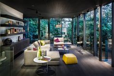Description by RADO ILIEV . DESIGN: The goal here was to update and extent an existing house and turn it into a larger contemporary home. The updated house needed to be better integrated but also p...
