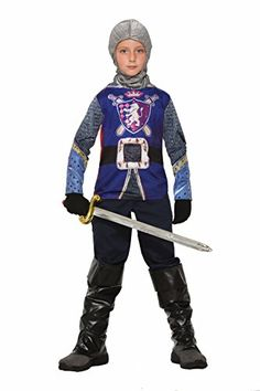 1c34a31418dbc Forum Novelties Kids Knight Costume Multicolor Small *** You can find out  more details