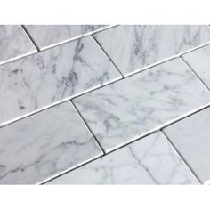 RK Honed Marble Bianco Carrara 60 x Marble Subway Tiles, Honed Marble, Xiamen, Brick Tiles, Stone Tiles, Tile Stores, Flooring Store, Wall And Floor Tiles, Stone Flooring