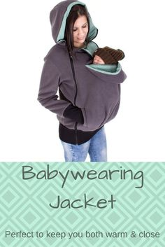 The perfect item to keep baby and Mama warm and close all winter long.