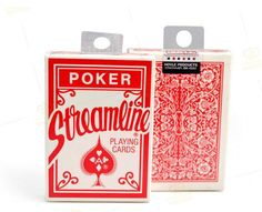 Streamline Playing Cards/Poker,Bicycle for Flourish- Magic Tricks,Card,Stage Magic Props,Close Up,Magic Accessories
