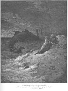 Jonah 2Jonah Is Spewed Forth by the Whale