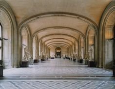 artnet Galleries: Musee du Louvre Paris XII by Candida Höfer from Robilant & Voena