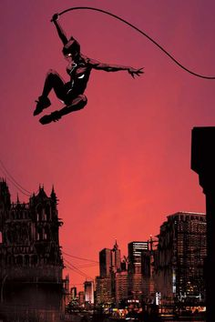 Catwoman being all kinds of cool. Art by: Jock