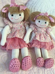 Summer Shabby Chic Doll