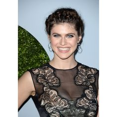 Alexandra Daddario 2014 GQ Men Of The Year Party in Los Angeles ❤ liked on Polyvore featuring mens