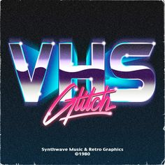 VHS Glitch #80s #type #design #revival