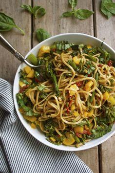 Asparagus Ravioli With Pan-Seared Cremini Mushrooms Recipe ...