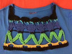 T-Shirt and crochet