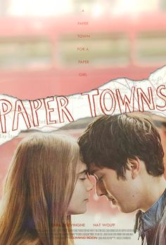 "thesecretlifeofbeigepotato: """"As long as we don't die, this is gonna be one hell of a story."" Paper Towns Fan-made poster "" These fan posters are beautiful and are keeping me company while I wait for..."
