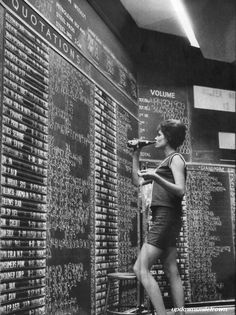 Stock market boards - early 1960's