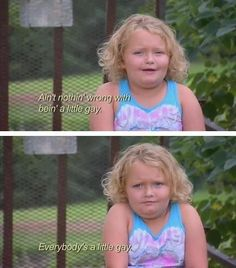 Honey Boo Boo knows what's up!