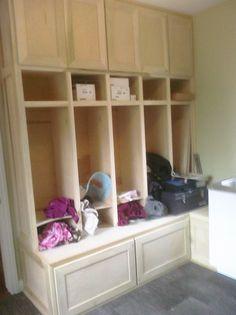 Laundry Room Locker Unit